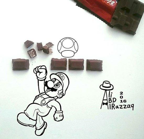 5. 超級馬里奧巧克力