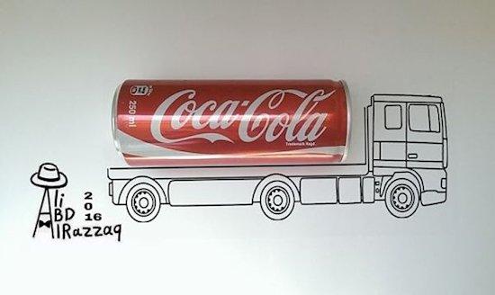 2. 可樂卡車