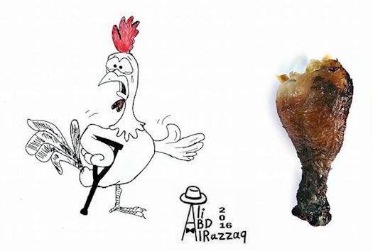 1. 可憐的公雞