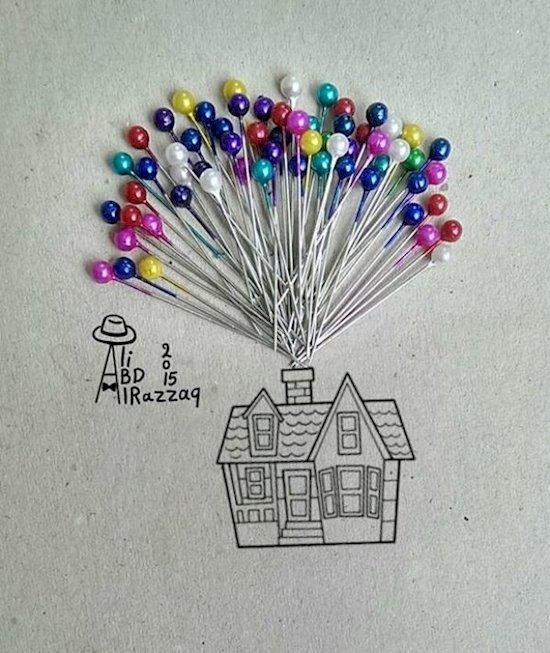 14. 飛屋環遊記的氣球