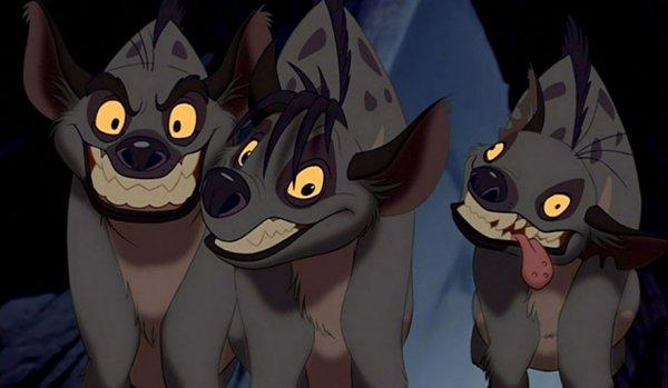 《獅子王》里鬣狗
