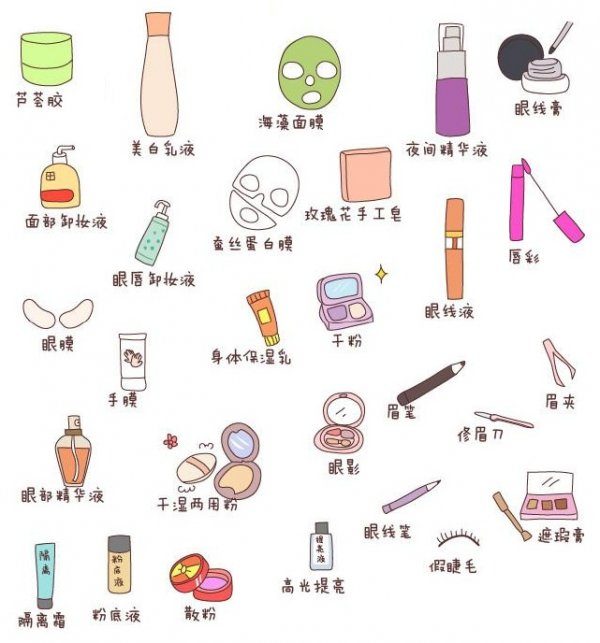 買天然的化妝品及護膚品,皮膚就不會那麼敏感,保持白白滑滑水嫩嫩的。
