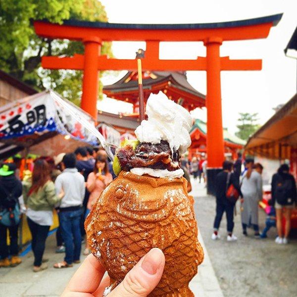 9. 魚形鯛魚燒, 日本