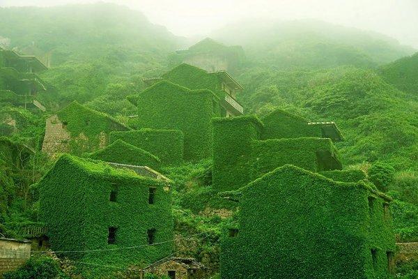 10. 中國嵊泗, 廢棄的漁村