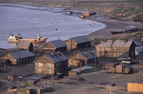「紹伊納」位於離俄羅斯的納里揚馬爾市230公里的地方,早在1930年代時,...