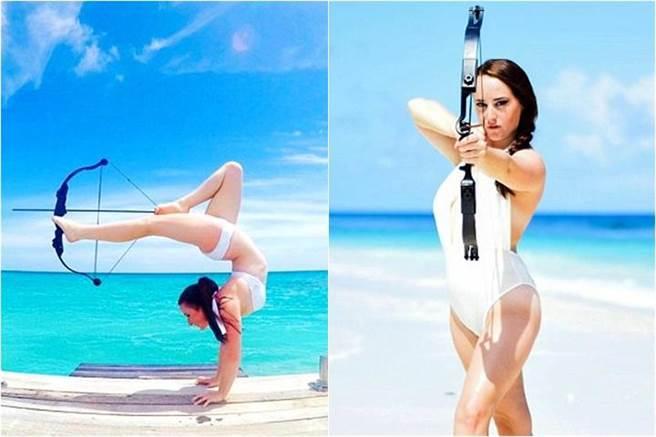 這位名叫Orissa Kelly的美女弓箭手,來自英國,現年21歲。身懷絕技的她,除...