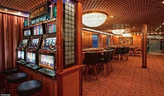 休息室里竟然還有Casino。