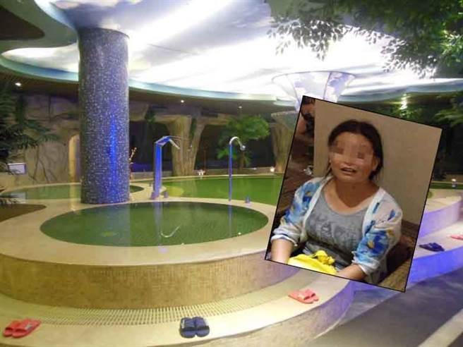 受害人孫女士表示,她原本和家人在酒店泡溫泉,打算放鬆身心,沒想到變...