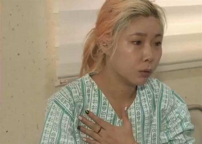 受傷女子事後接受電視台訪問時指當時以為自己要死了。而事件發生之後,...