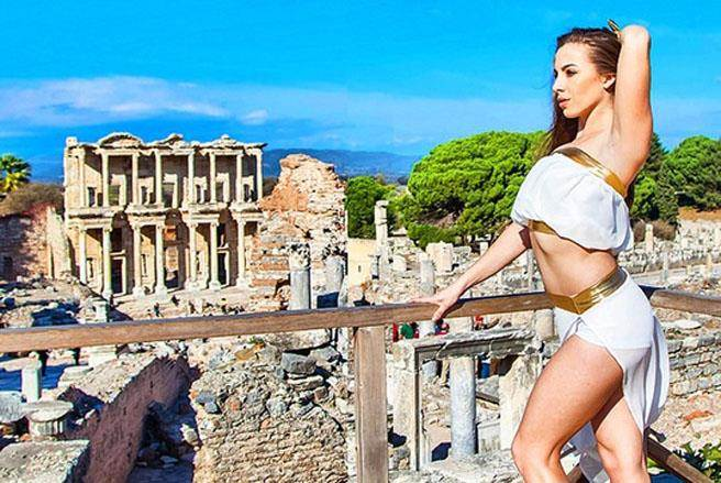 土耳其地中海東岸城市以弗所(Ephesus)創建於公元前10世紀,這座羅馬帝國...
