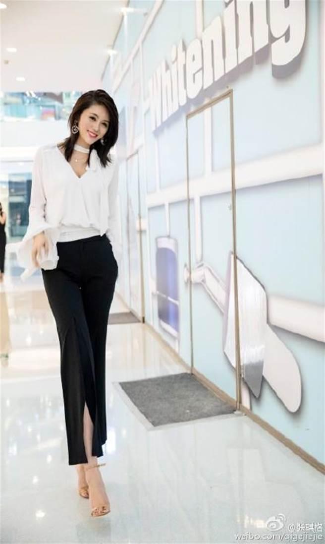 張琪格不僅是直播女主播,也是職業模特兒,曾連續摘得2012世界旅遊小姐...