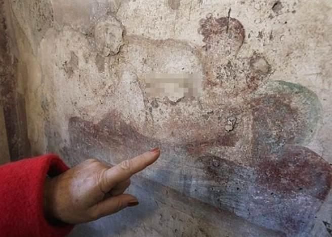奧爾森認為壁畫有指示作用,是用於告訴客人妓女們提供的服務內容。有學...